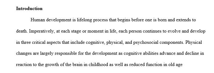 Developmental theory to life