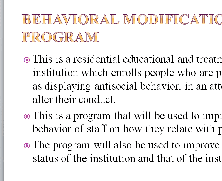 Discuss the importance of each step to the development of effective behavior management programs.