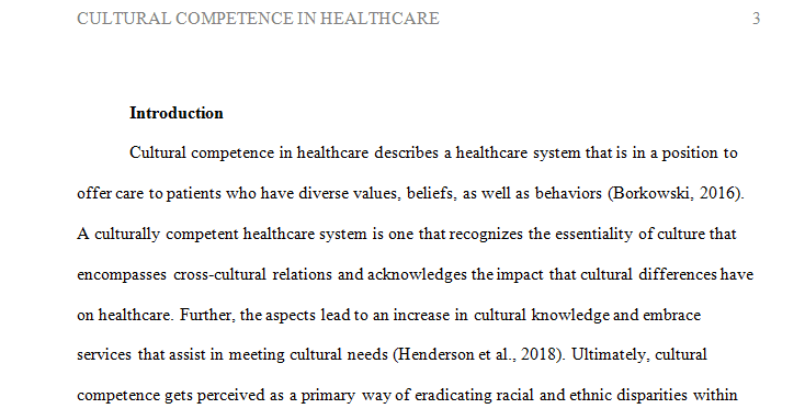 Diversity & Cultural Competency in Health Care Healthcare leadership and future workforce