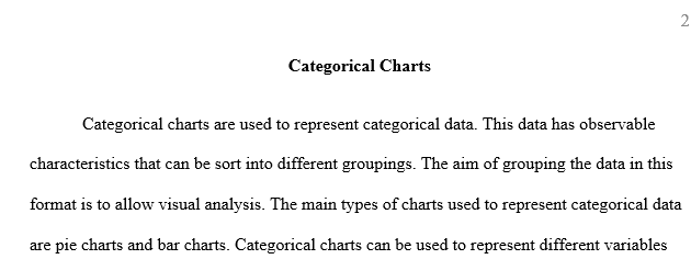 Comparing categories and distributions of quantities values