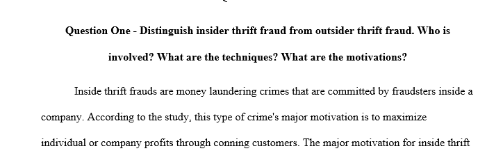 How does investment and financial services fraud work? Who are the actors typically involved in this sort of fraud?