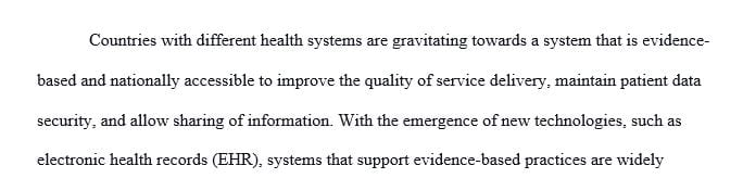 Discuss the point that countries with different health systems structures all aspire to a similar goal