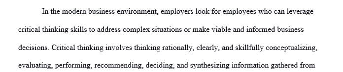 What aspects of critical thinking would enhance the authors' approach of determining tradeoffs